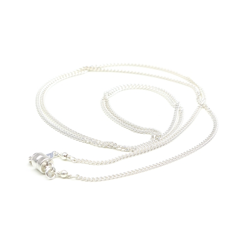 Silver Chain with magnetic clasp - AG925