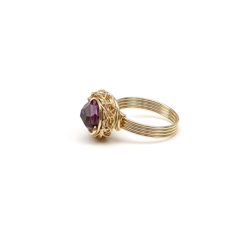 Sweet Amethyst - Ring