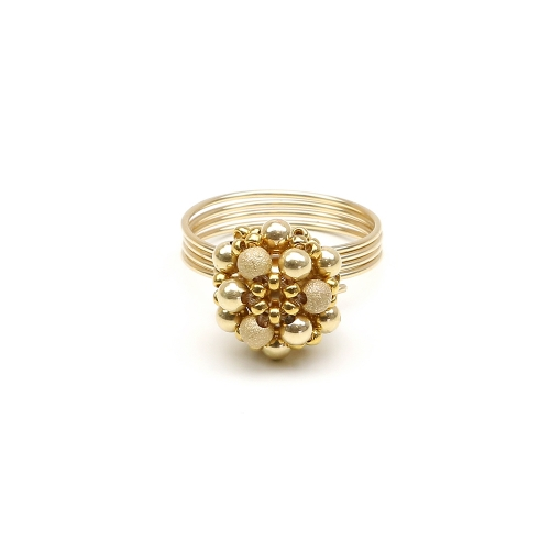Golden Daisies - ring