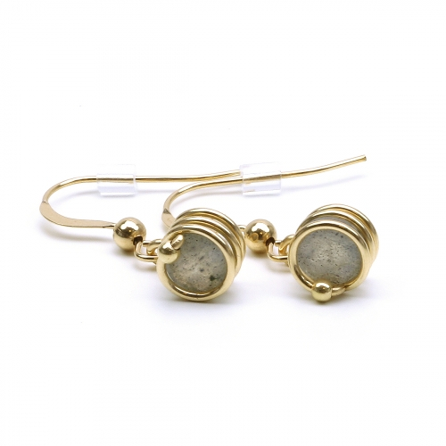 Earrings for women - Busted Deluxe Labradorite