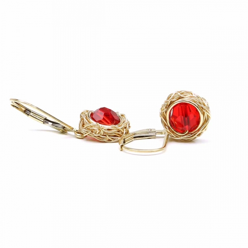 Leverback earrings for women - Sweet Passion