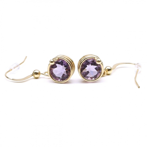 Earrings by Ichiban - Busted Deluxe Brazilian Amethyst