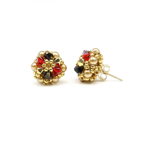 Stud earrings by Ichiban - Daisies Happy Arlechino