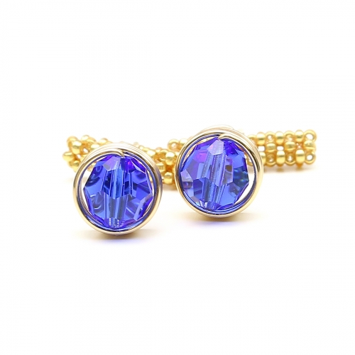Cufflinks by Ichiban - Busted Majestic Blue