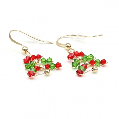 Dangle earrings by Ichiban - Christmas Tree
